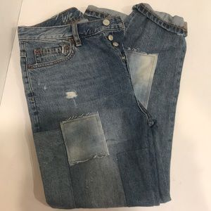 Free People NWT Patch Cropped JeanS